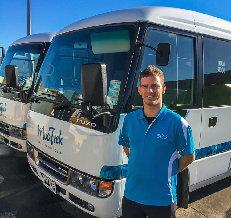 Operations and Fleet Manager Charlie Cavolo
