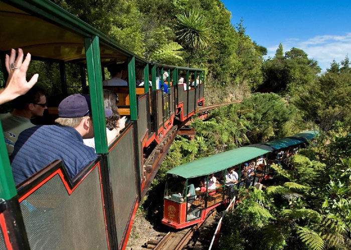 Barry Brickells Railway Coromandel - MoaTours Small Group Escapes