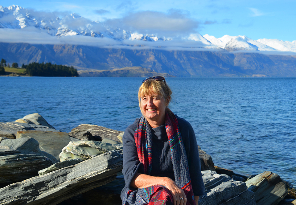 Ena from MoaTours by Lake Wakatipu, Queenstown
