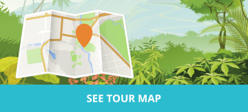Canterbury Springtime Gardens Tour Map - MoaTours