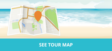 Napier Art Deco Festival Tour Map - MoaTours