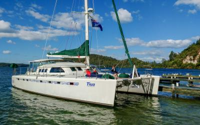 Lake Rotoiti Pure Cruise Luxury Catamaran 'Tiua'