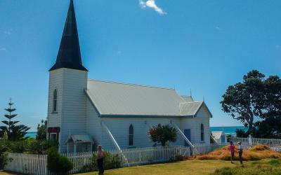 Raukokore Church - East Cape Caper Tour