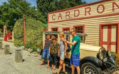 Visitors to the Cardrona Hotel