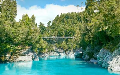 Swingbridge over the Hokitika Gorge