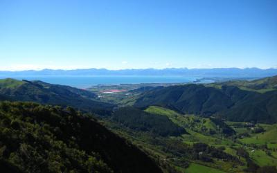 View from Takaka Hill - Molesworth Station Tour