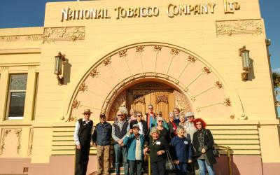 Group Photo in Art Deco Napier
