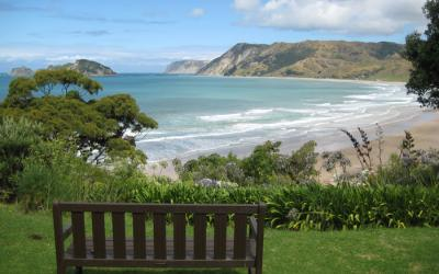 View of Anaura Bay - East Cape Caper Tour