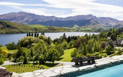 Views of Lake Hayes from Stoneridge Estate Queenstown