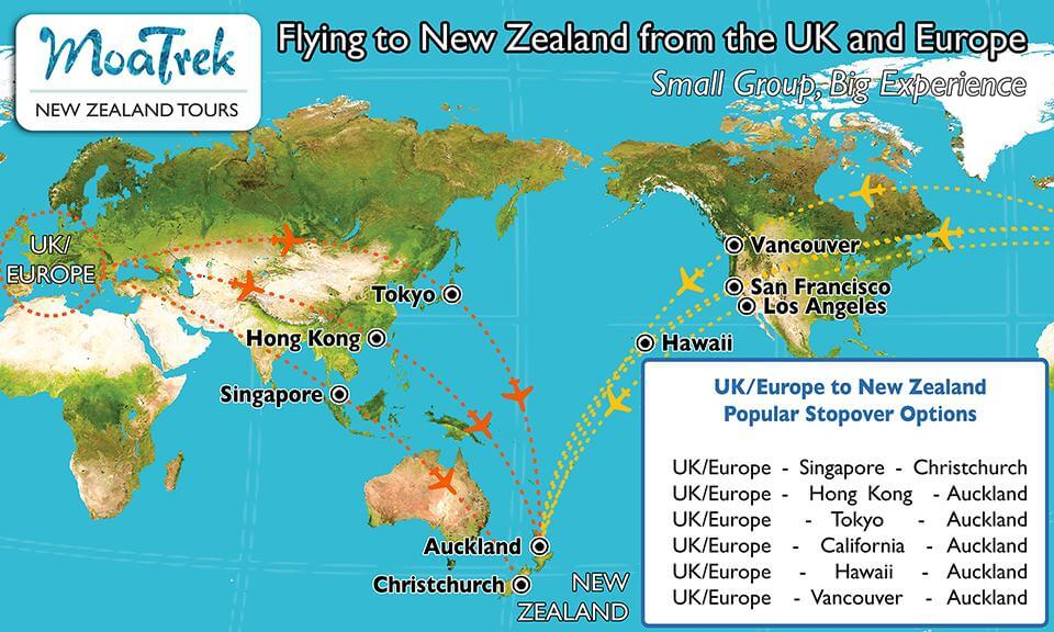 Flights hawaii to new zealand all the best flight in 2018 flights to new zealand from us sciox Images