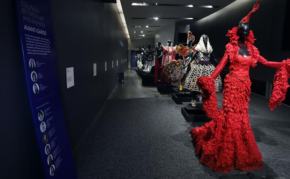 World of WearableArt Costumes at the WOW Museum in Nelson