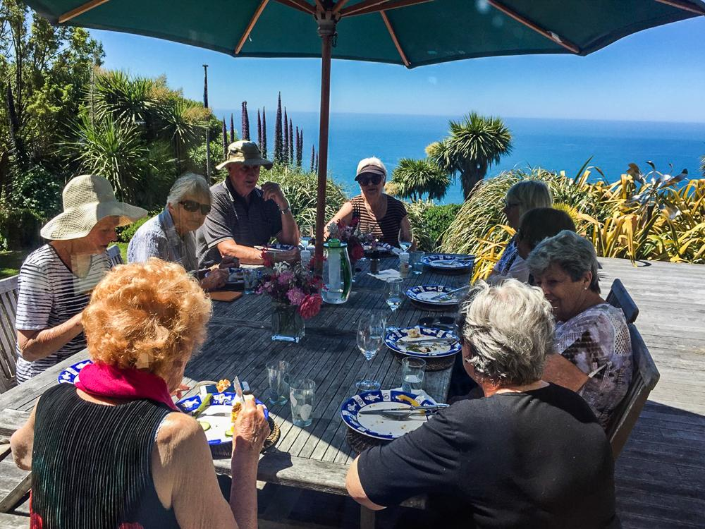 Fishermans Bay group lunch