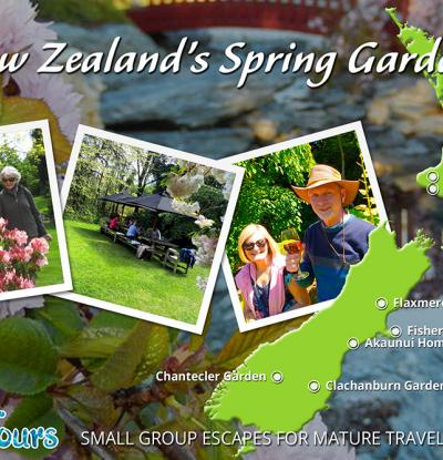 Spring gardens of New Zealand - MoaTours