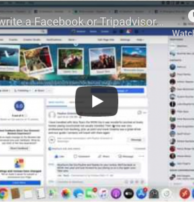 How to write a Facebook or Tripadvisor review for MoaTours