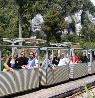 Guests on the Nile River Rainforest Train