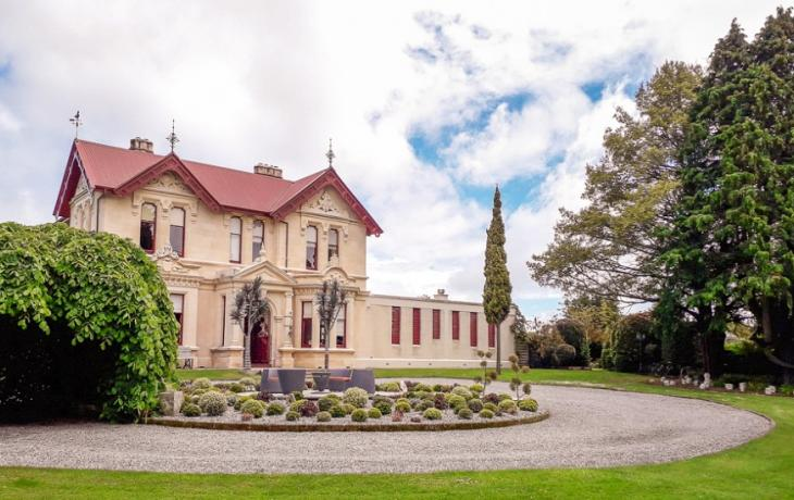Homestead & Garden at Brookfields House in Oamaru