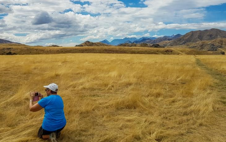 Photo time at Molesworth Station