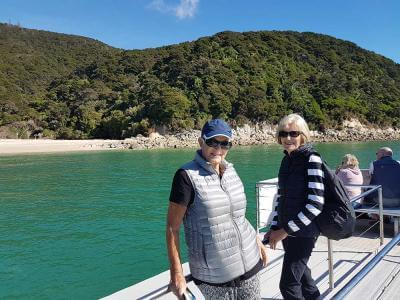 Cruising in Abel Tasman National Park