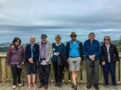 MoaTours Group at Eyefull Tower Lookout