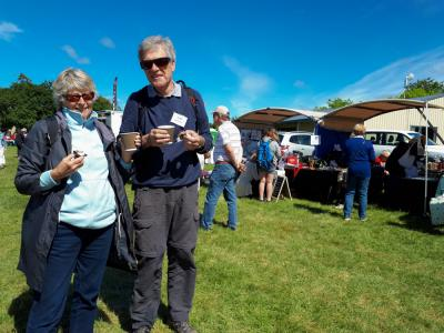 Guests exploring the Waipara Christmas Country Fete