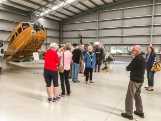 Visiting the Croydon Aviation Heritage Museum in Mandeville, Southland