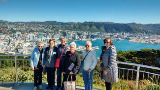 Mt Victoria Lookout Group Shot